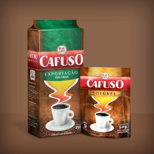Packshot - Cafuso Exportação